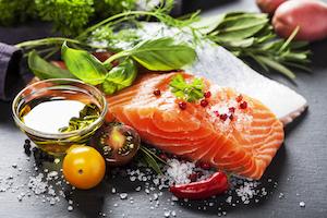 rejuvenescimento-do-rosto-comida-saudável